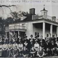 Maynard High School at Mt. Vernon  -  Class of 1916