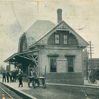 Boston & Maine Railroad Station - 1907
