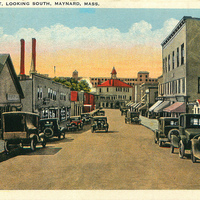Nason Street in the early 1930s
