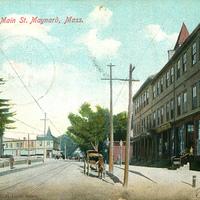 Main Street Looking East - 1906