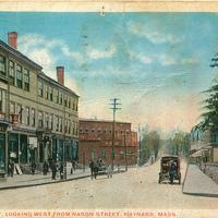 Main Street Looking West - Post Mark 1926