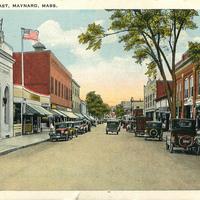 Main Street Looking East - 1930s