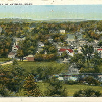 Bird's Eye View of the West End - 1920s