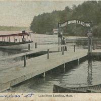Lake Boon Landing - 1926