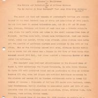 Centennial Monograph: The Battle of the Bottle