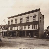 Odd Fellows Block on Nason Street - ca 1900