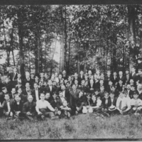 Maynard Cricket Club Outing - 1917
