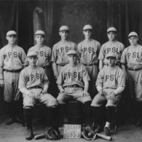 Y.P.S.L.  Baseball Team  -  1922<br /> Young People&#039;s Socialist League