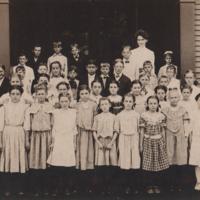 Nason Street School Grade 6 - 1907<br />