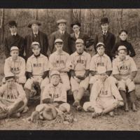 Maynard High School Baseball Team  - 1906