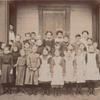 Old  Main Street School Grade 4( ?)  -  ca 1890